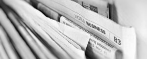 World Business newspaper section